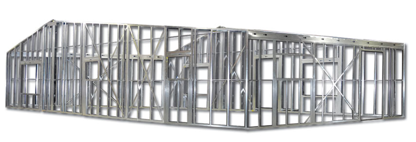 Steel Post Building System