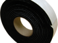 Weatherized Rubber Composite Layer with Adhesive Tape