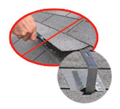 Don't ever break another shingle